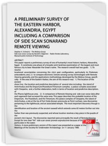 A Preliminary Survey of the Eastern Harbor, Alexandria, Egypt PDF